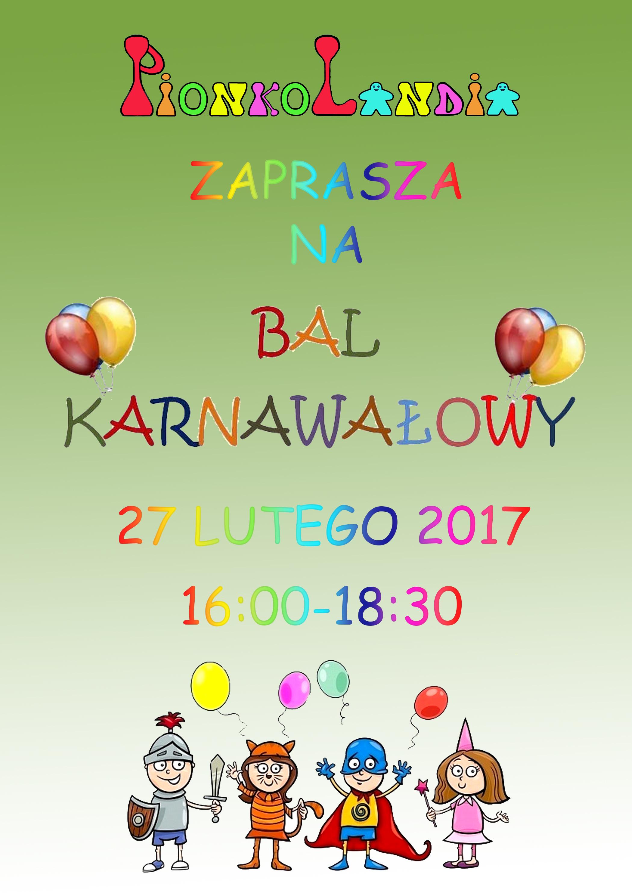 Planszówkowy Bal Karnawałowy