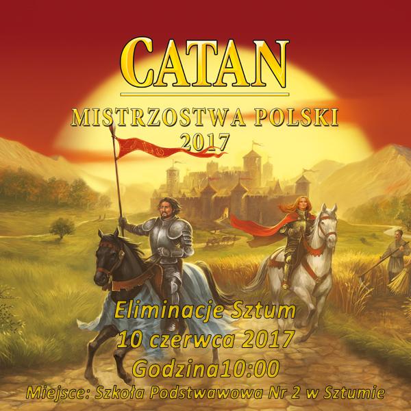 Catan – eliminacje do Mistrzostwa Polski 2017