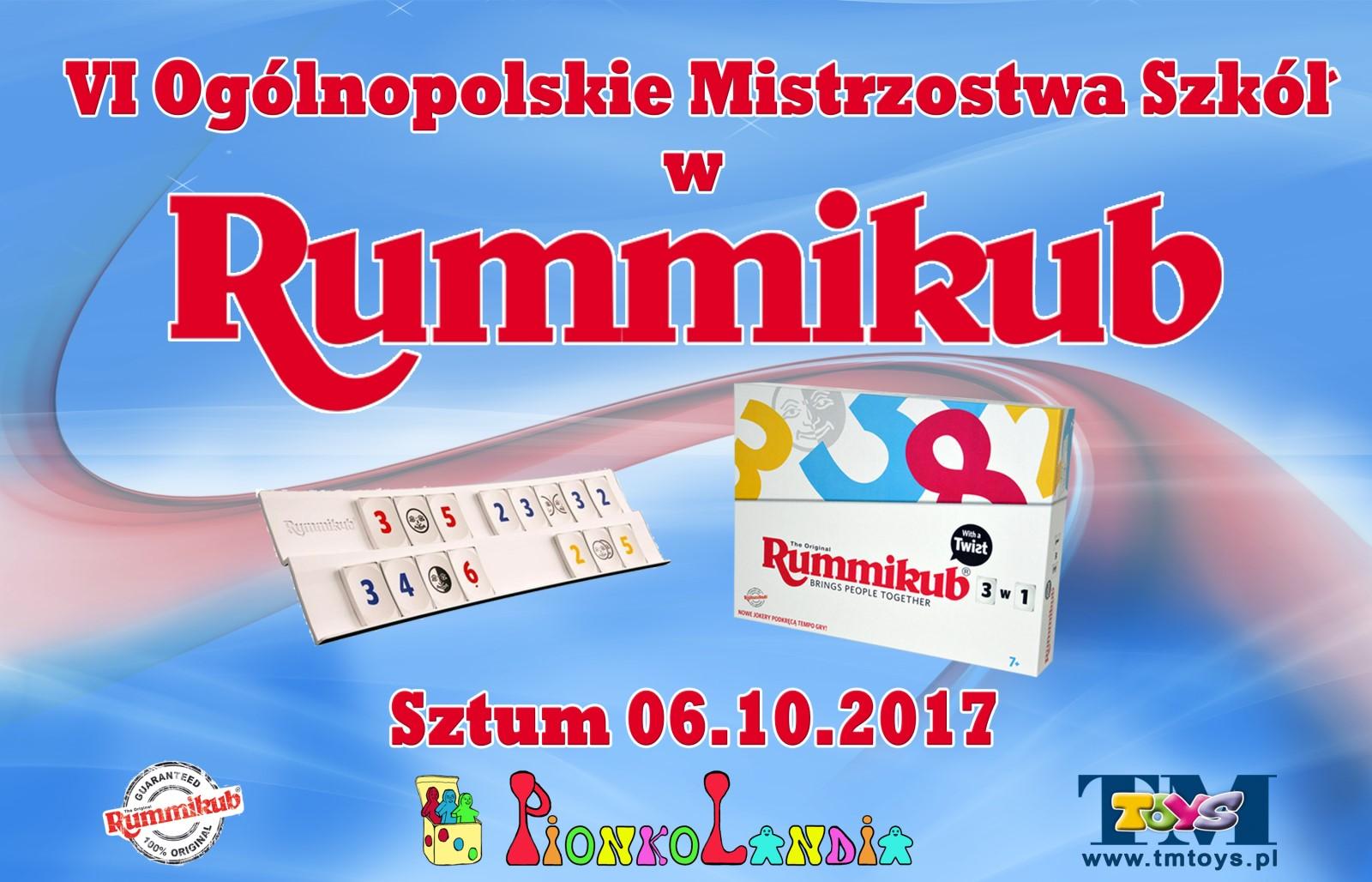 Mistrzostwa Polski Szkół w Rummikub