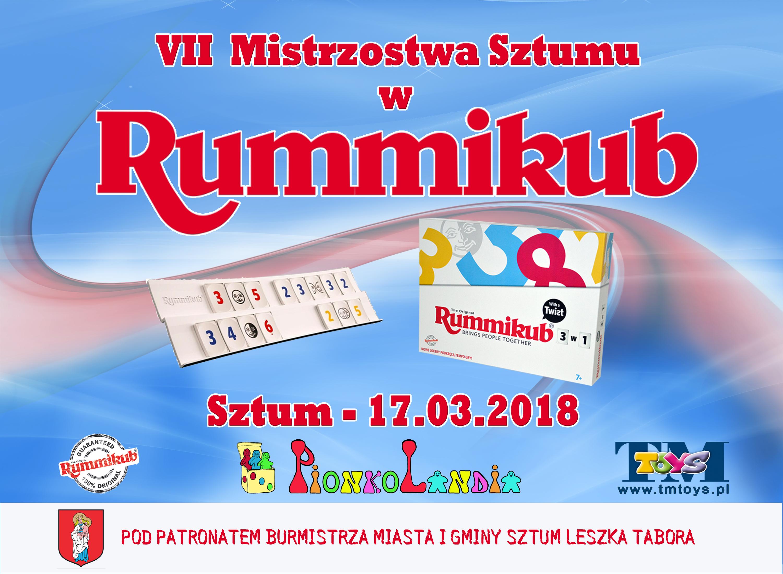 VII Mistrzostwa Sztumu w Rummikub