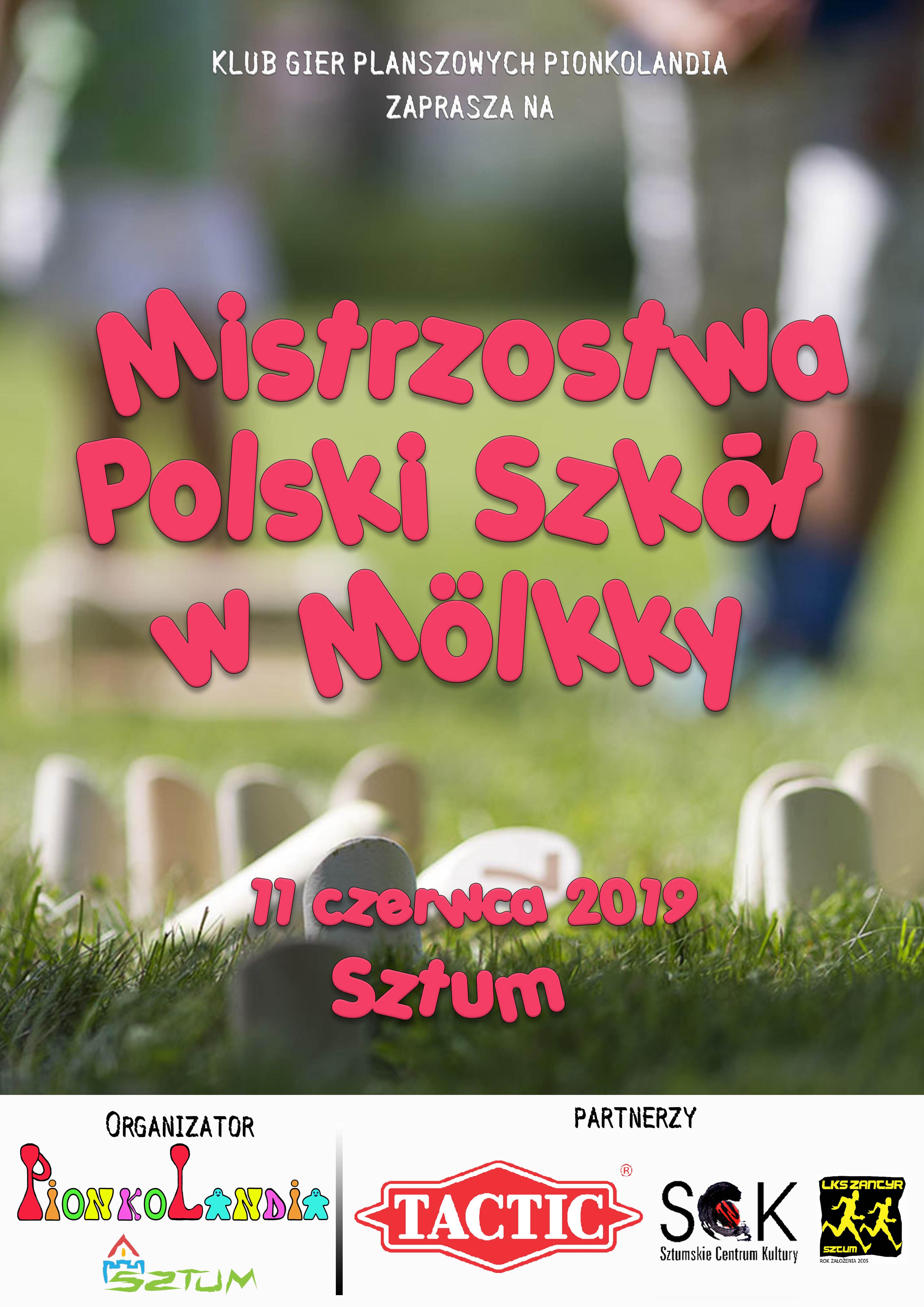 Mistrzostwa Polski Szkół w Molkky
